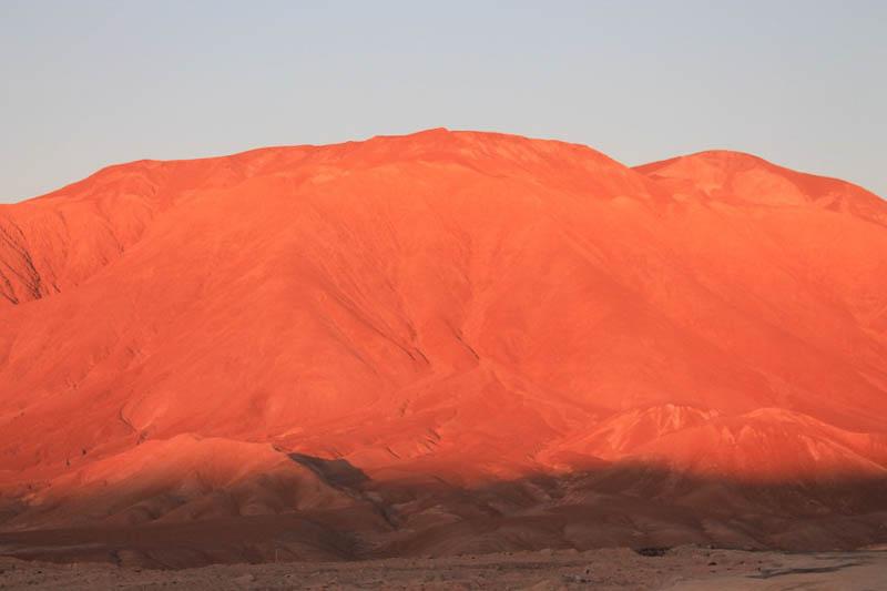 Atacama Desert, sunset