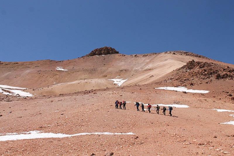 Cerro Soquete, 5.430 mts