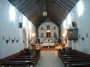 Codpa Church, indoor