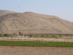 Geoglyfs, Azapa Valley