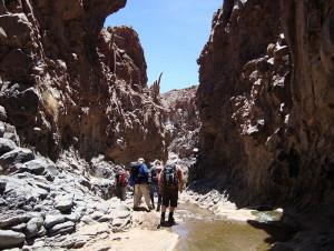 Guatin Gorge, trek