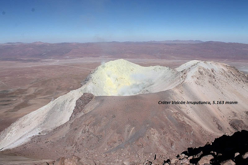 Irruputuncu Volcano (5.163 masl)