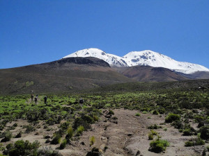 Taapaca Volcano (5.870 masl)